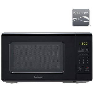 4.Kenmore 70729 0.7 cu. Microwave oven- Removable turntable tray